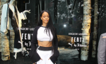 Rihanna at Bergdorf Goodman