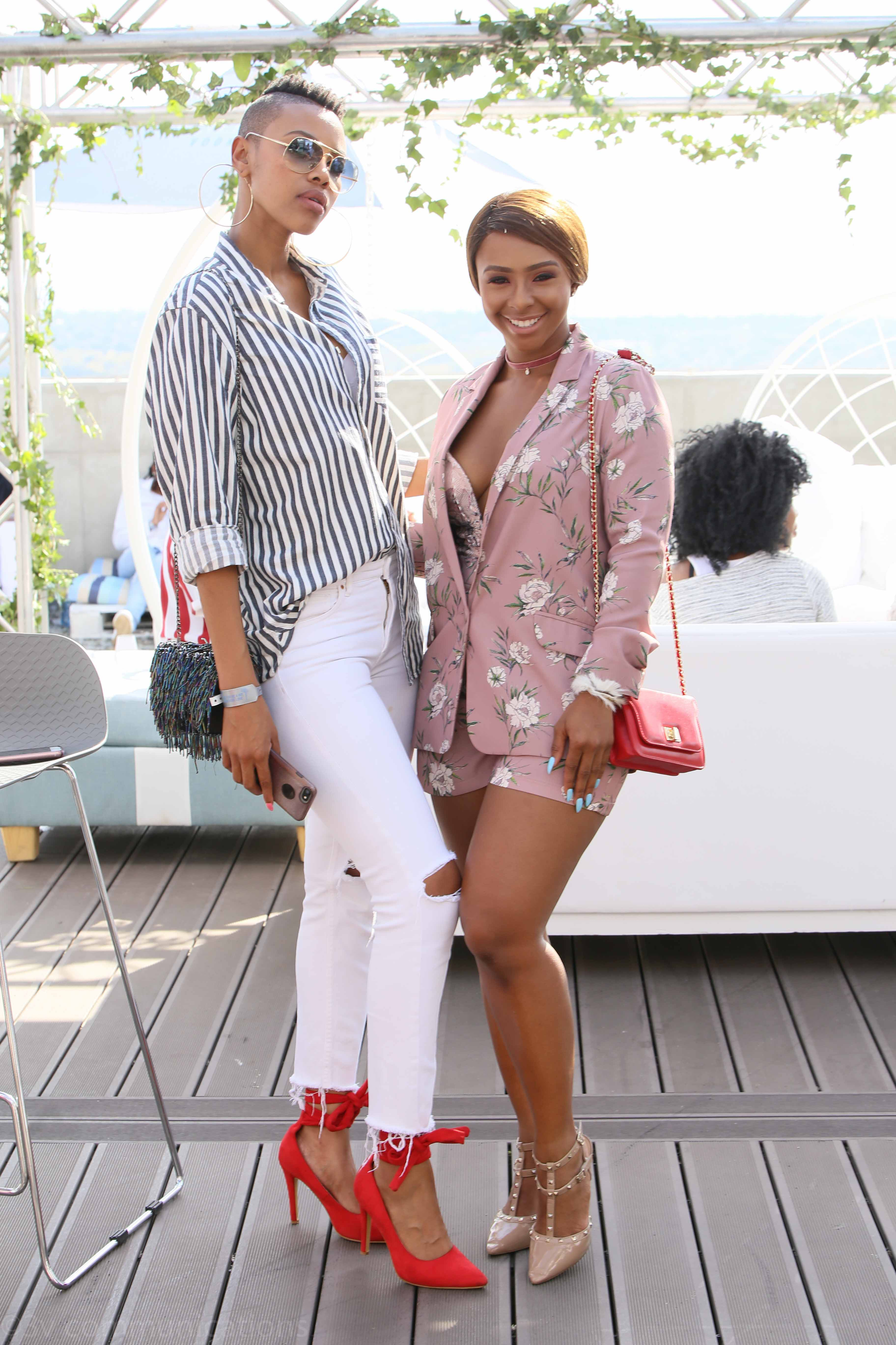 Luthando Shosha and Boity
